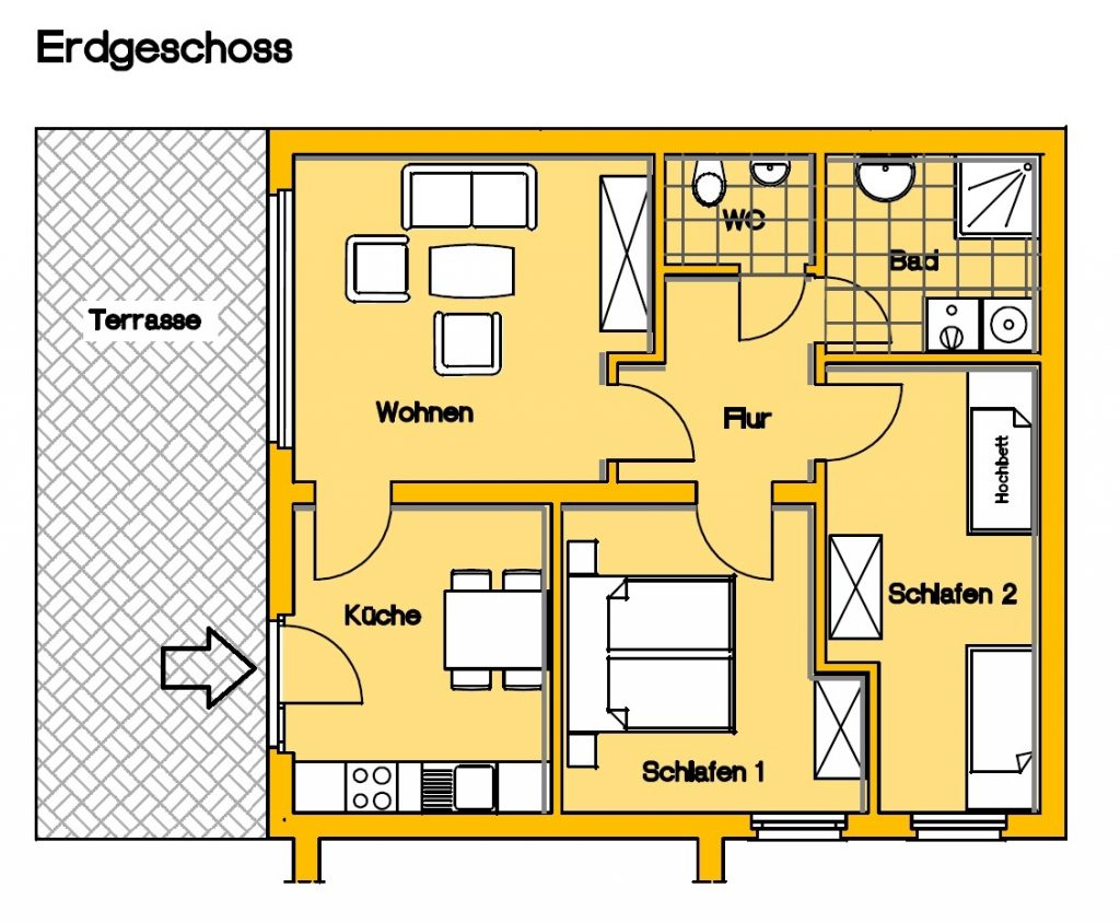 Appartement Borkum