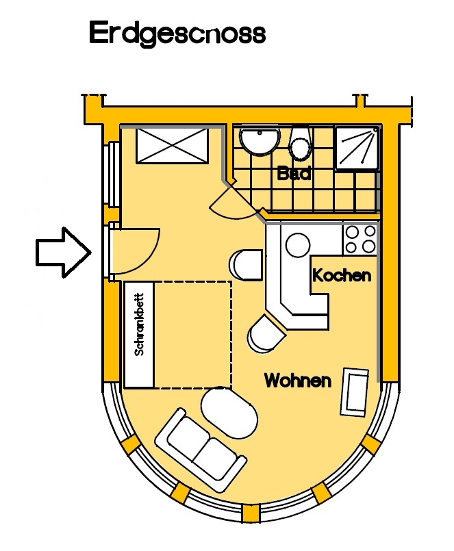 Appartement Mellum
